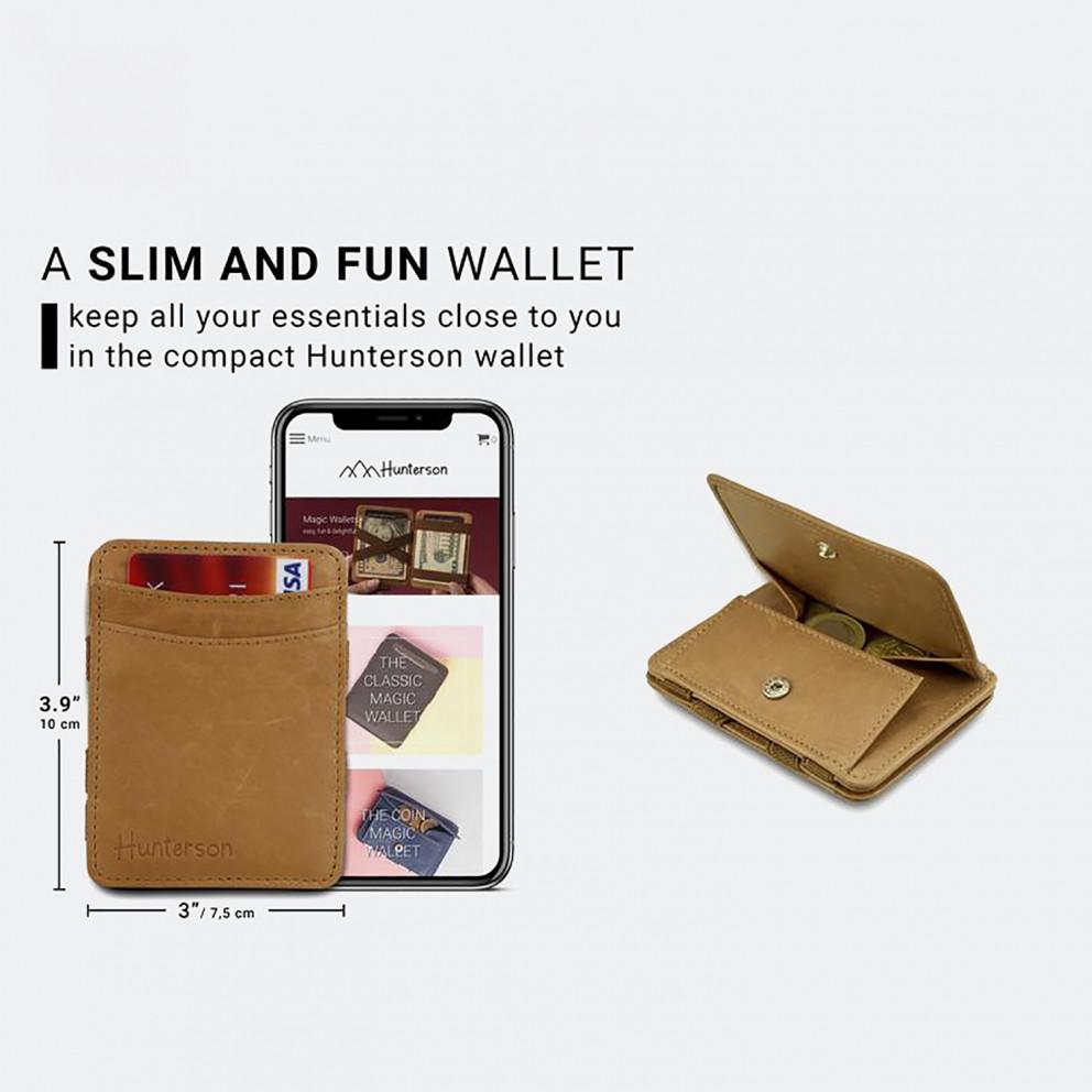 Hunterson Magic Coin Wallet RFID - Δερμάτινο Πορτοφόλι