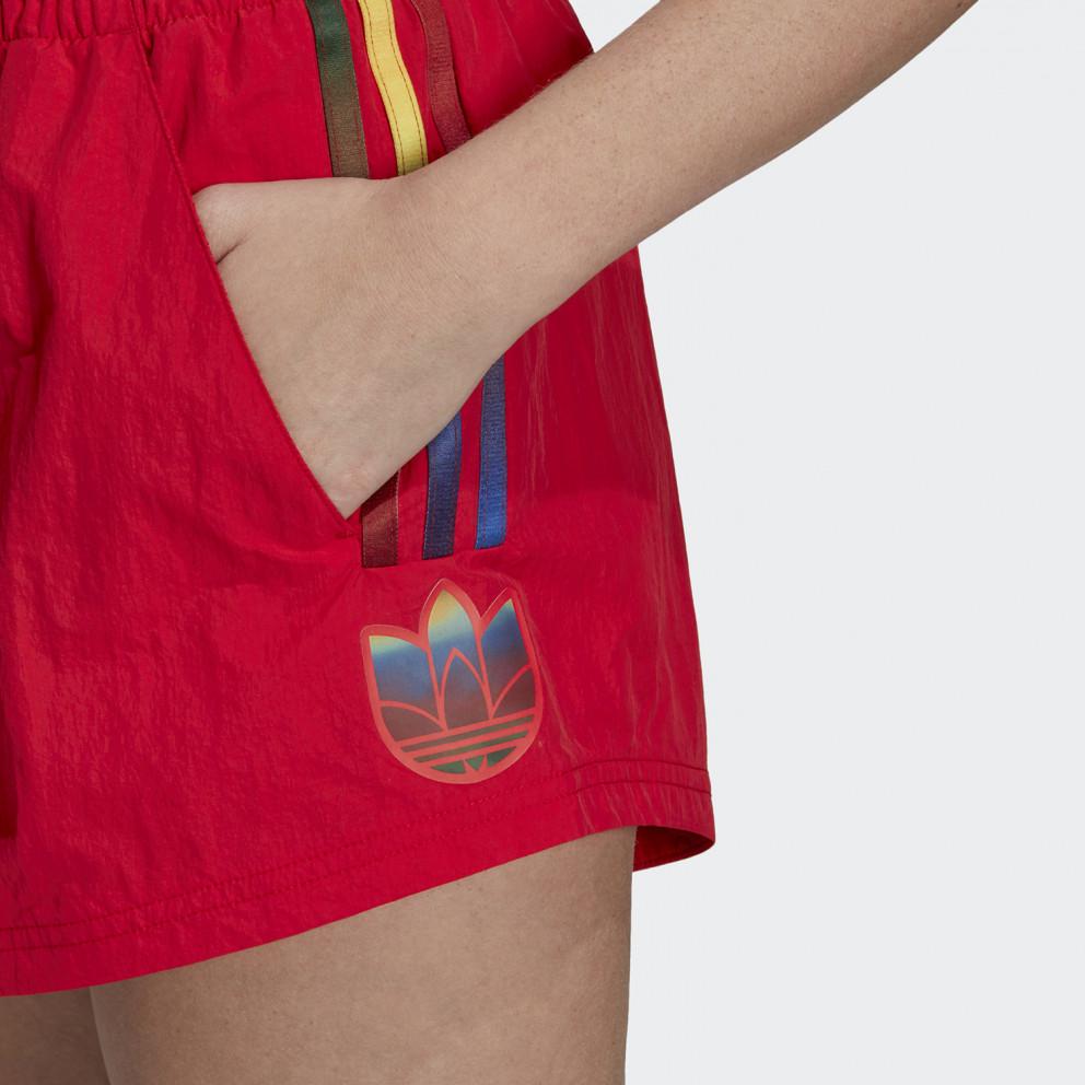 adidas Originals Adicolor 3D Trefoil Γυναικείο Σορτς