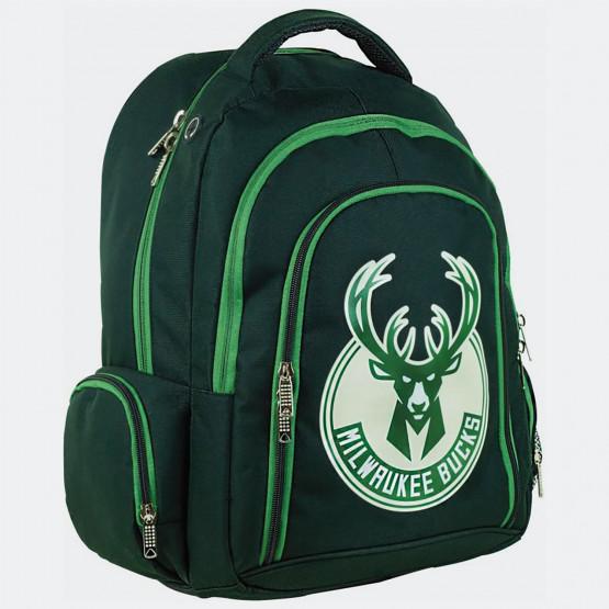 NBA Milwaukee Bucks Οβάλ Σακίδιο Πλάτης  30L