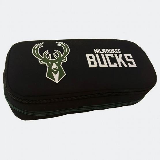 NBA Milwaukee Bucks Pencil Case 9 x 21 x 6 cm