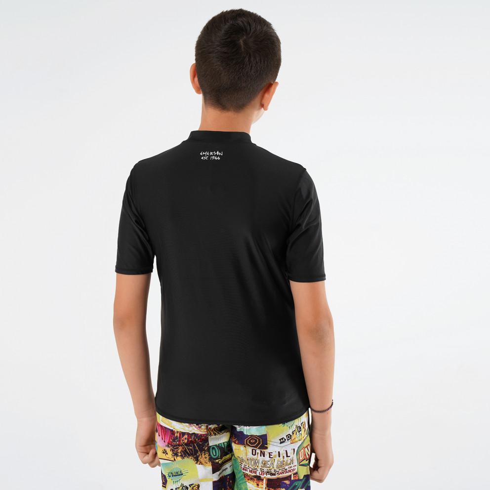 Basehit Kids Rashguards Παιδική Μπλούζα