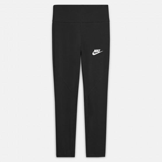 Nike Sportswear High-Waisted Παιδικό Κολάν