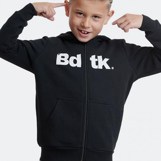 BodyTalk b Hooded Zip Sweater  70%Co 30%Pes