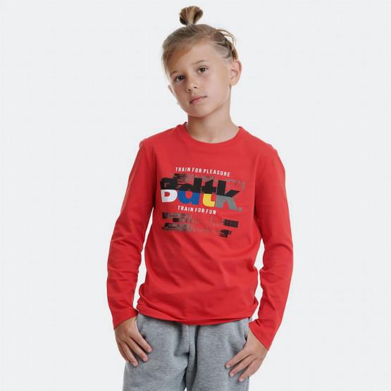 BodyTalk b Tshirt Ls  100%Co