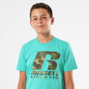 Russell Athletic Camo Logo Kids' T-shirt