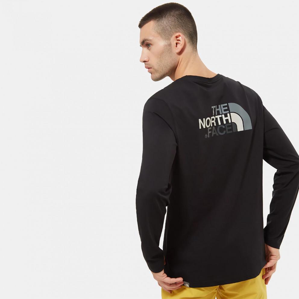 THE NORTH FACE Easy Ανδρική Μπλούζα με Μακρύ Μανίκι