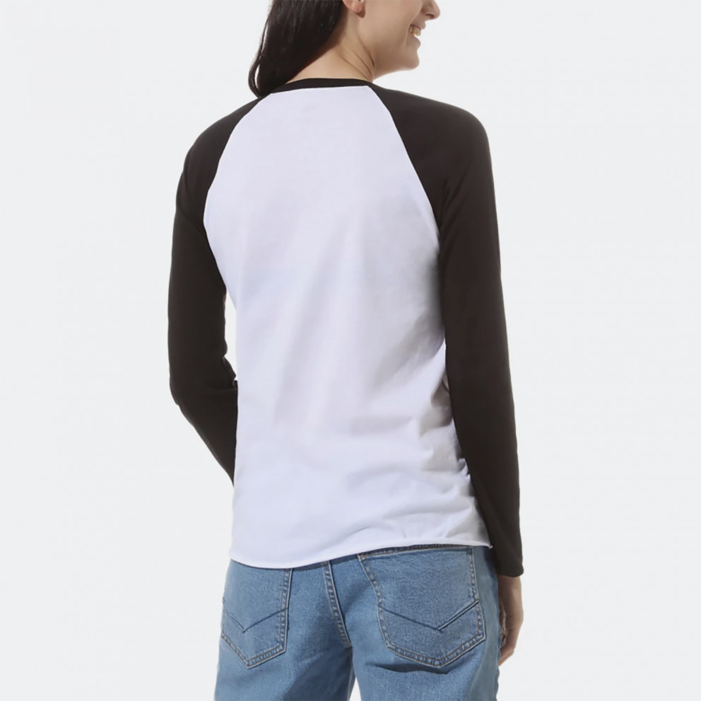 Vans Fyinh V Longsleeve Raglan Γυναικείο T-shirt