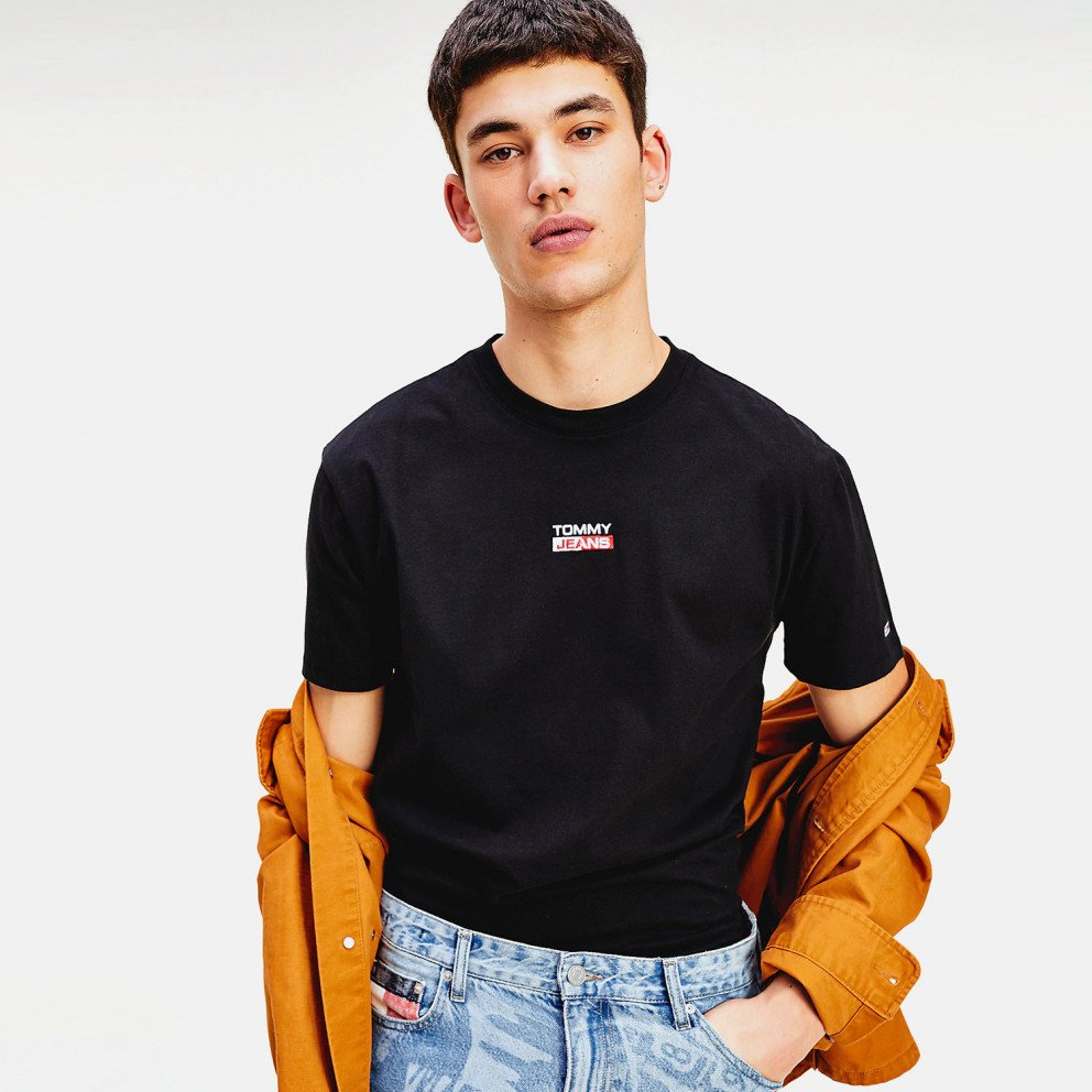 Tommy Jeans Small Centered Logo Tee