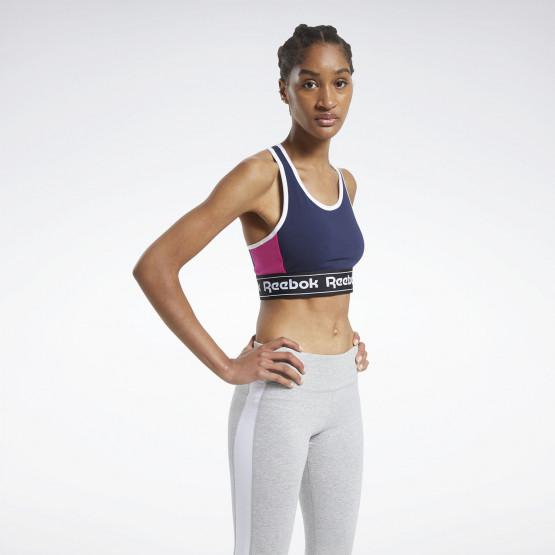 Reebok Training Essentials Linear Logo Low-Impact Γυναικείο Μπουστάκι