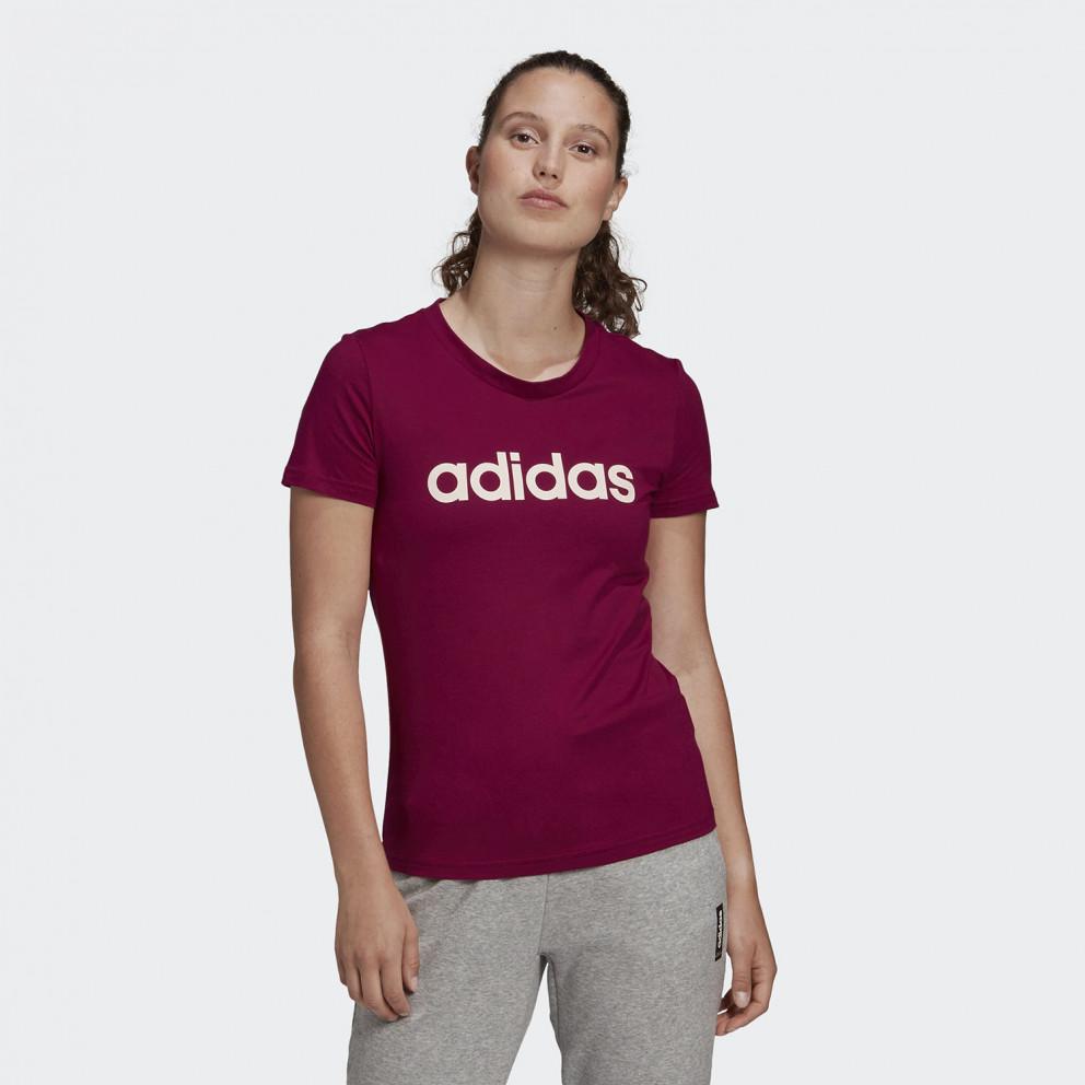 adidas Performance Essentials Linear Γυναικείο Μπλουζάκι