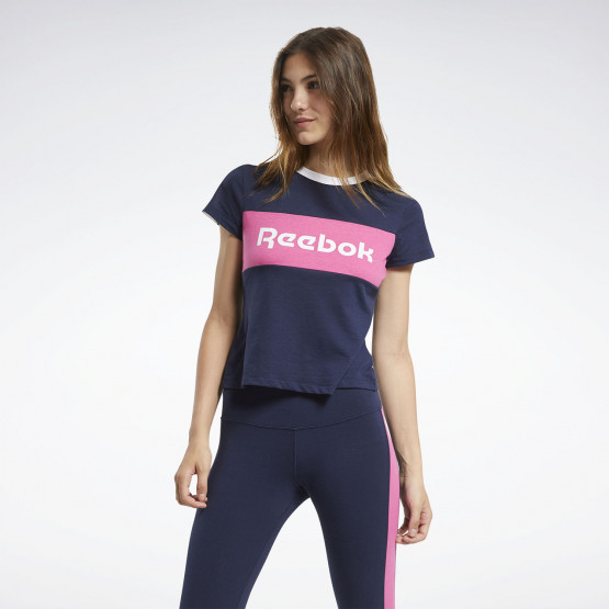 Reebok Sport Training Essential Linear Logo Detail Women's Tee