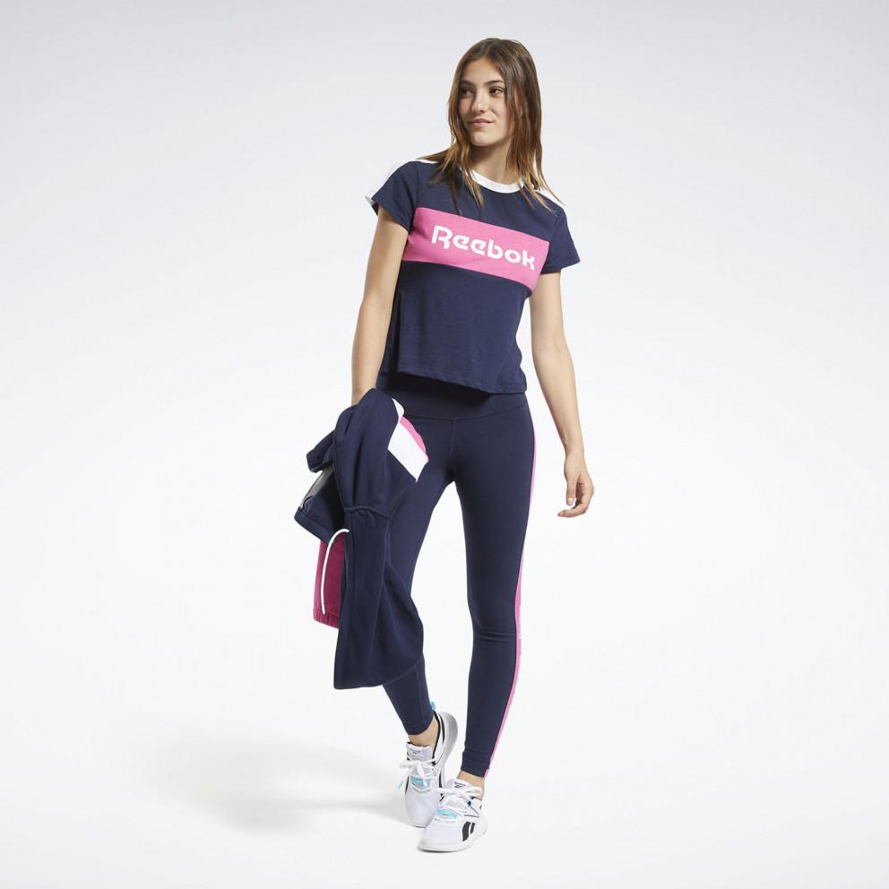 Reebok Sport Training Essential Linear Logo Detail Γυναικεία Μπλούζα