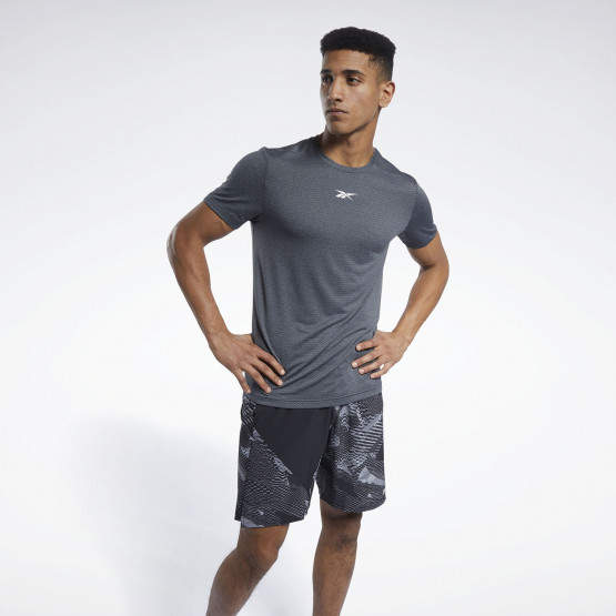 Reebok Sport Workout Ready Mélange Ανδρική Μπλούζα