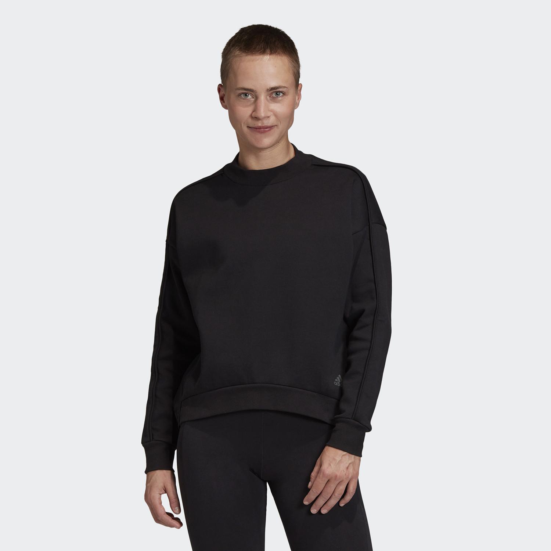 Adidas Sportswear Γυναικεία Oversized Μακρυμάνικη Μπλούζα (9000058922_1469)