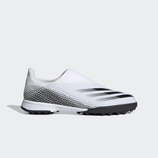 adidas Performance X Ghosted.3 Laceless Turf Kids' Football Shoes