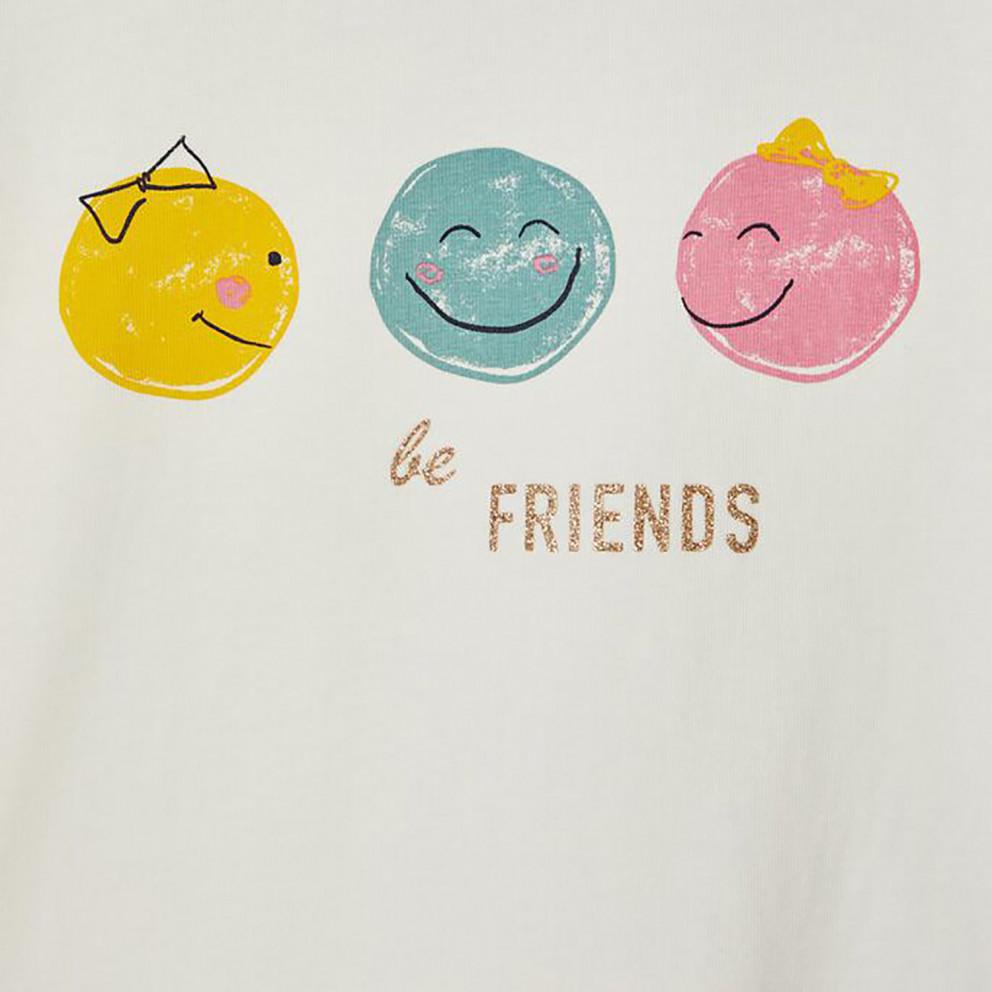 Name It Top Box Παιδική Μπλούζα με Μακρύ Μανίκι