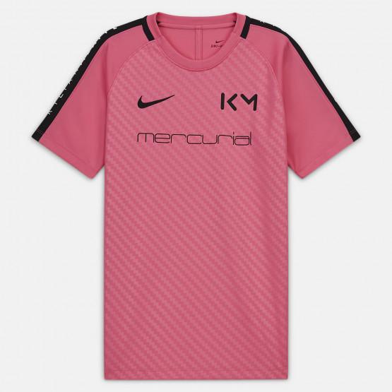 Nike Dri-FIT Kylian Mbappé Kids' Short-Sleeve Football Top