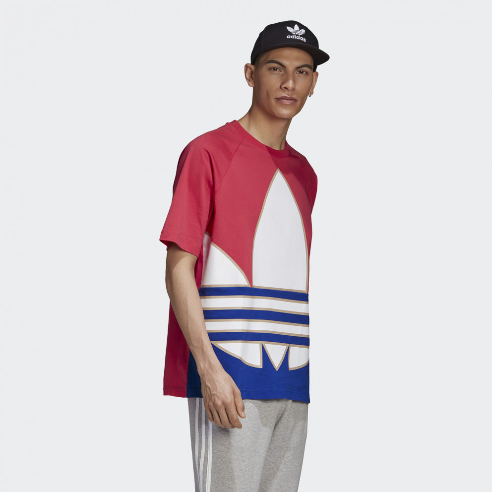 adidas Originals Big Trefoil Colorblock Ανδρική Μπλούζα
