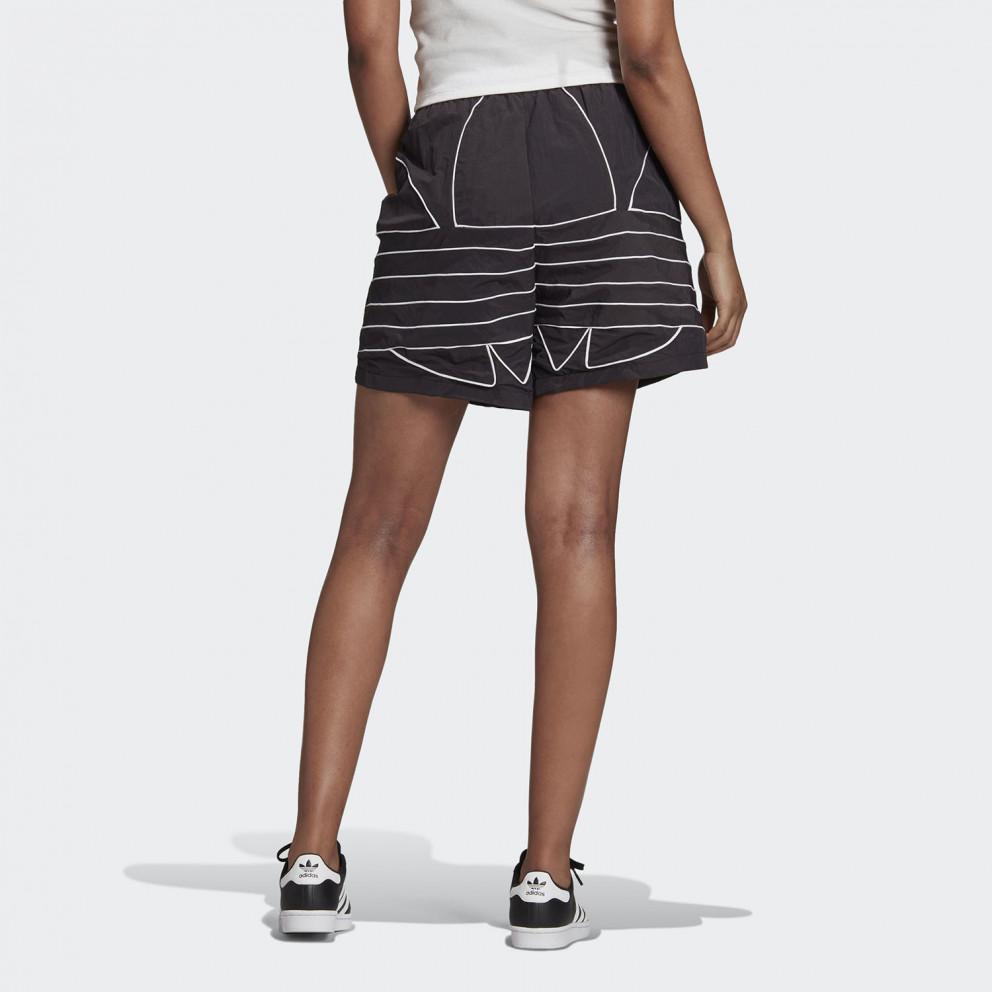 adidas Originals Adicolor Large Logo Γυναικείο Σορτς
