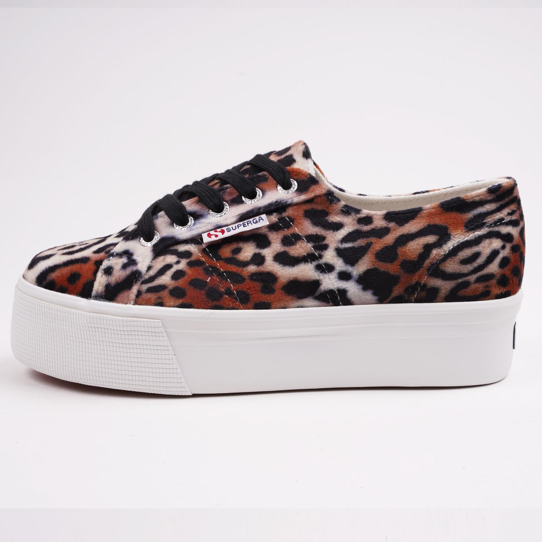Superga 2790 Platform Velvet Sneakers (9000064474_49026)