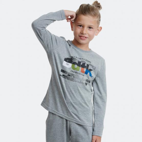 BodyTalk b Tshirt Ls  60%Co 40%Pes