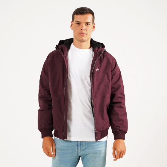 Emerson Men's Ribbed Jacket with Sherpa Lining