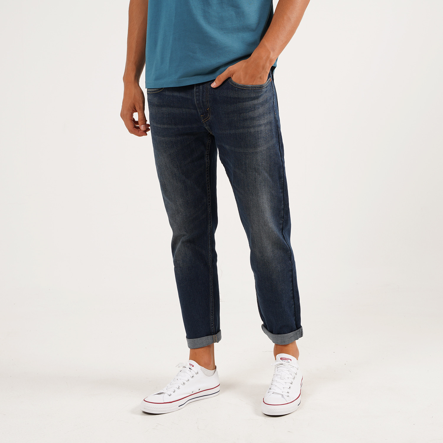 Levis 502 Taper Hiball Can Can Ανδρικό Τζιν Παντελόνι (9000054208_36604)