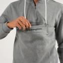 Champion Hooded Half Zip Ανδρικό Φούτερ
