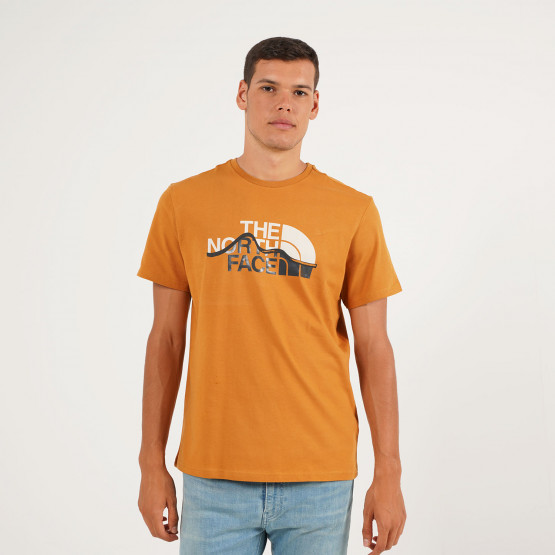 THE NORTH FACE M S/S Mount Line Tee Timber Tan