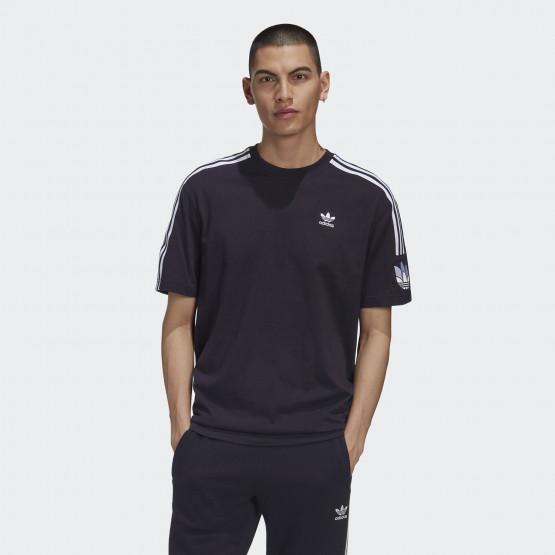 adidas Originals Adicolor 3d Trefoil 3-Stripes Men's Tee