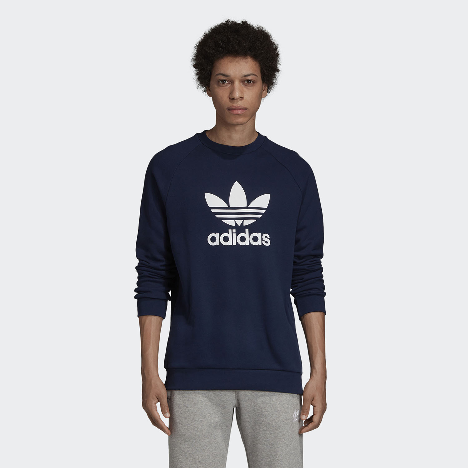 adidas Originals Trefoil Warm-Up Crew Ανδρικό Φούτερ (9000058717_7646)