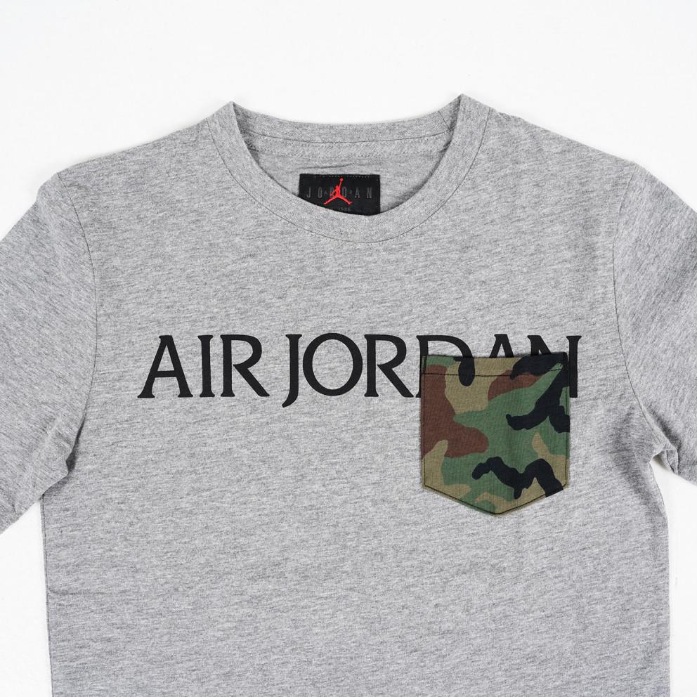 Jordan Jumpman Classics Camo Pocket Kids Boys' T-Shirt