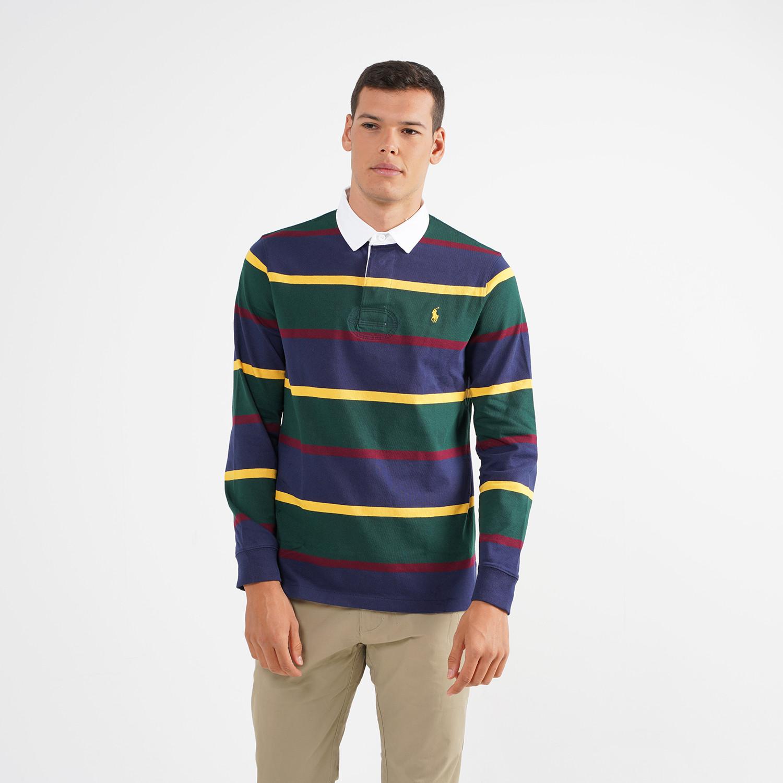Polo Ralph Lauren Aνδρική Μακρυμάνικη Μπλούζα με γιακά (9000064610_49062)