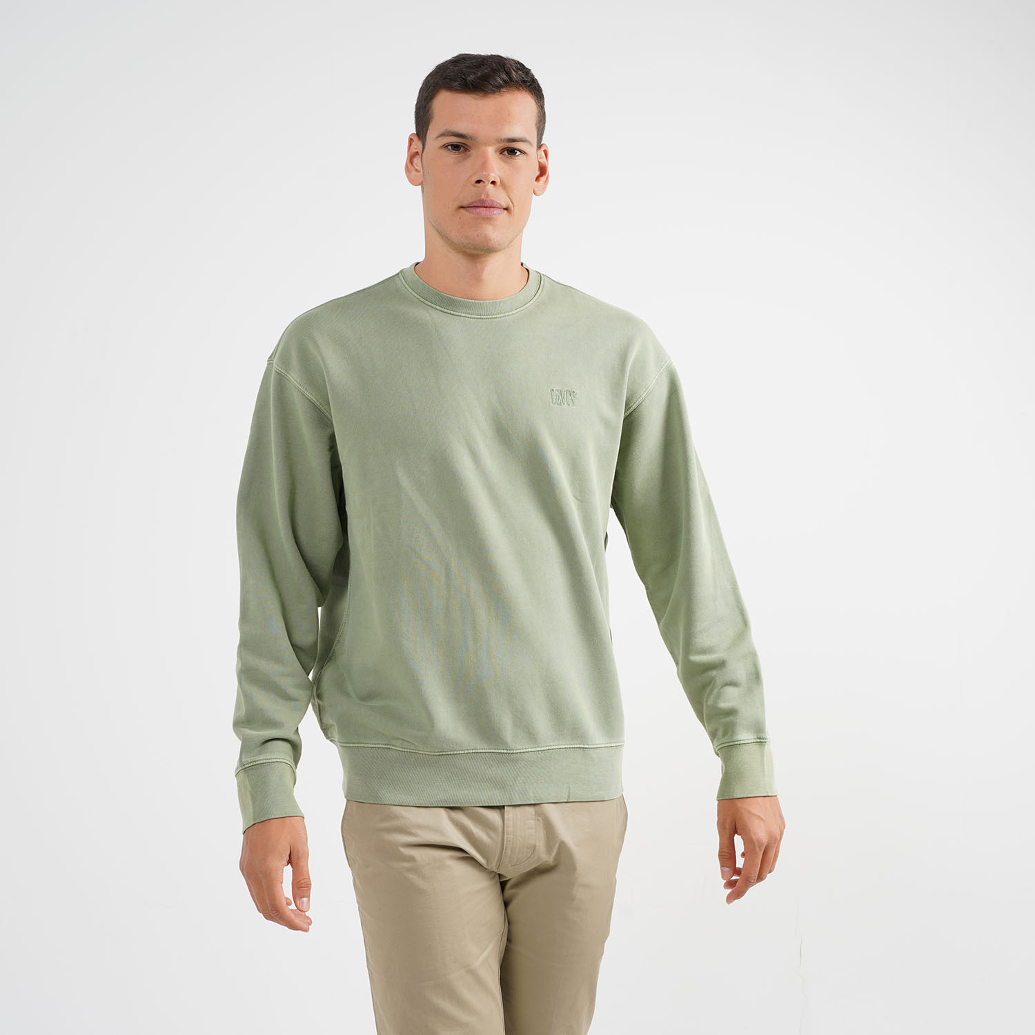 Levi's Authentic Logo Crewneck Ανδρική Μπλούζα (9000054224_26106)