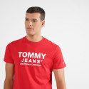 Tommy Jeans Essential Front Logo Ανδρική Μπλούζα