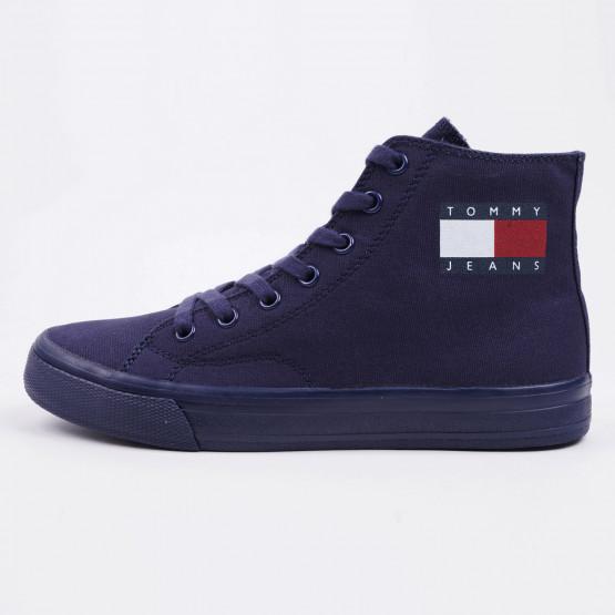 Tommy Jeans Mid Cut Lace Up Women's Shoes