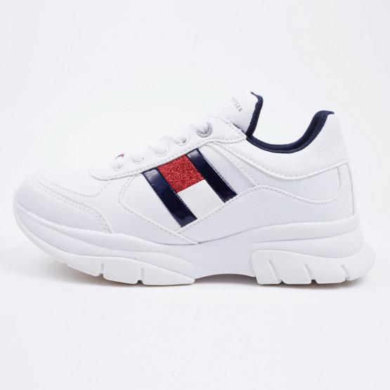 Tommy Jeans Low Cut Lace-Up Kid's Shoes