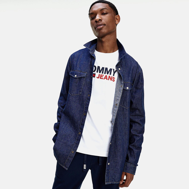 Tommy Jeans Western Denim Ανδρικό Πουκάμισο (9000065059_49130)