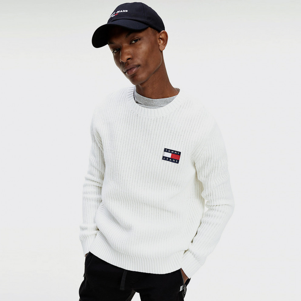 Tommy Badge Polar Fleece Men's Sweater