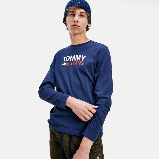 Tommy Jeans Longsleeve Corp Logo Tee