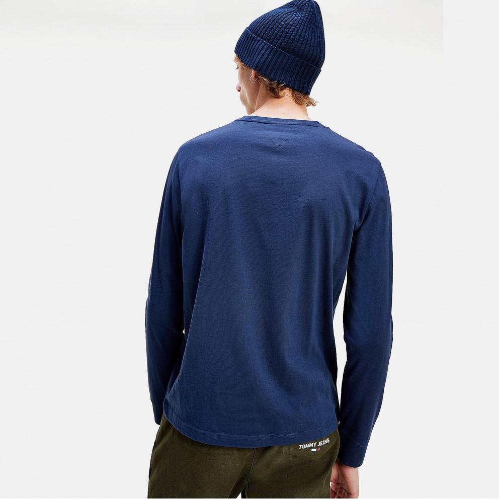 Tommy Jeans Logo Ανδρική Μακρυμάνικη Μπλούζα