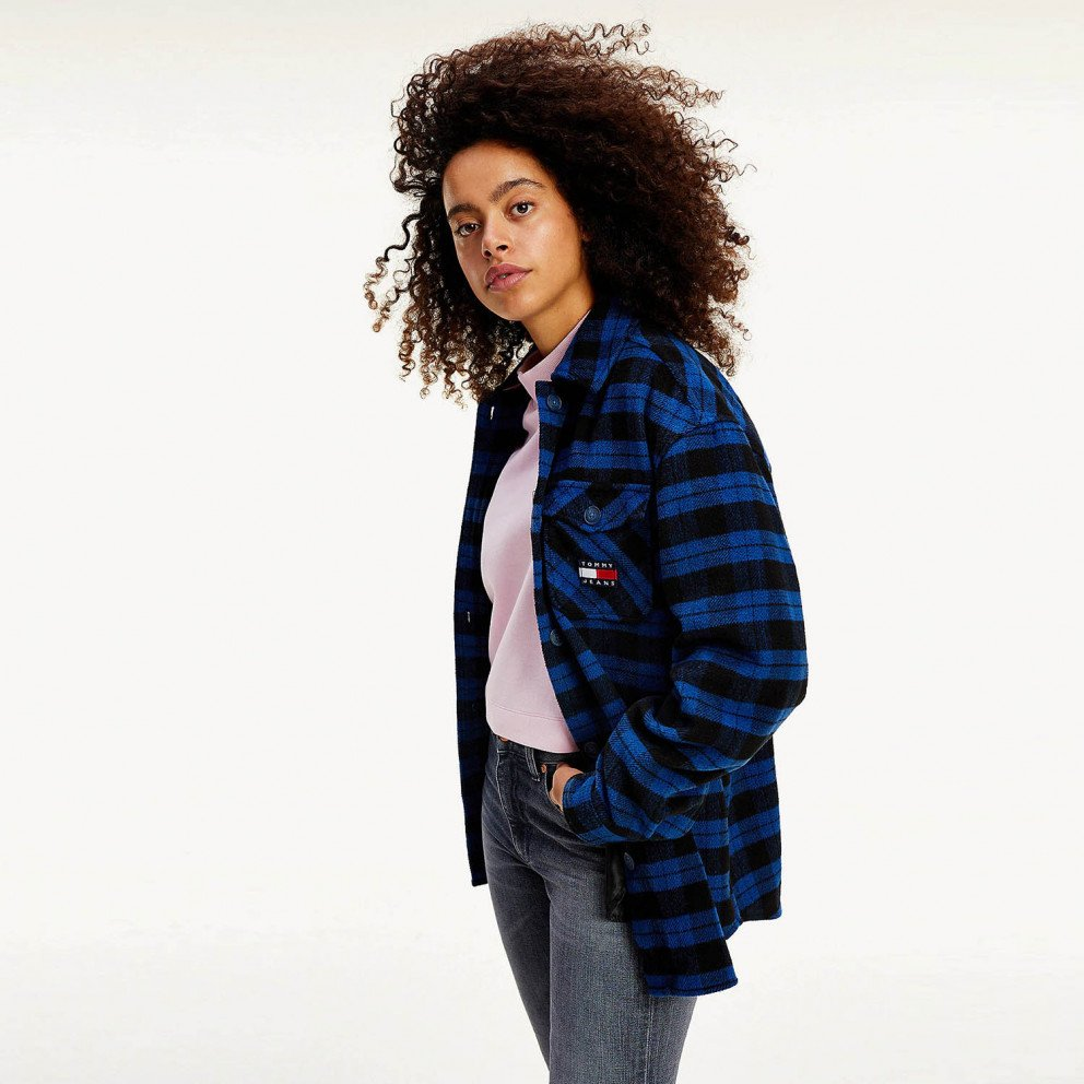 Tommy Jeans Flannel Overshirt