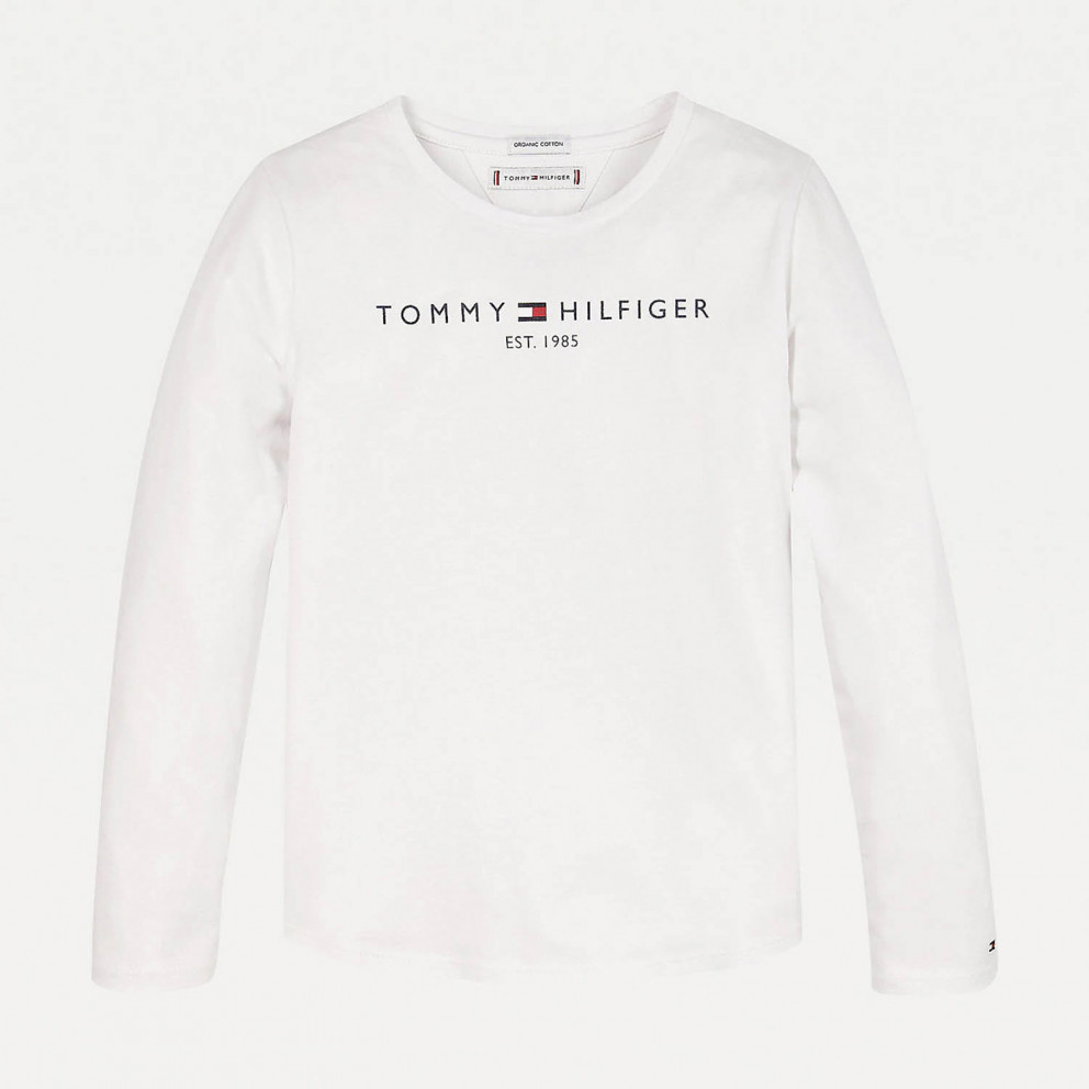 Tommy Jeans Essential Kids' Long-Sleeve Shirt