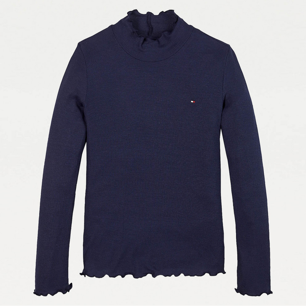 Tommy Jeans Babylock Rib Knit L/S