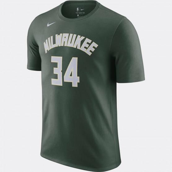 Giannis Antetokounmpo Bucks Men's Nike NBA T-Shirt
