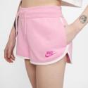 Nike Sportswear Heritage Γυναικείο Fleece Σορτς