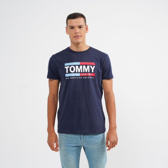 Tommy Jeans Straight Box Logo Tee
