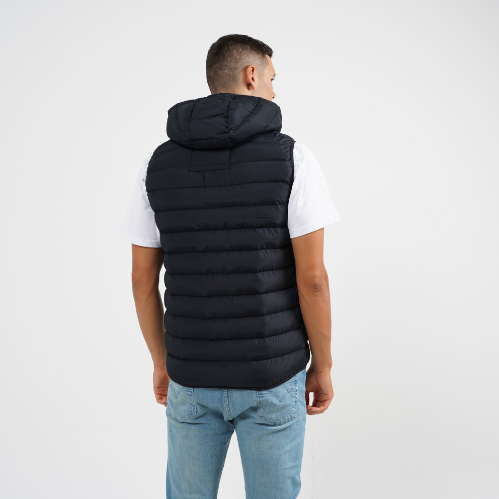 Body Action Quilted Ανδρικό Αμάνικο Μπουφάν