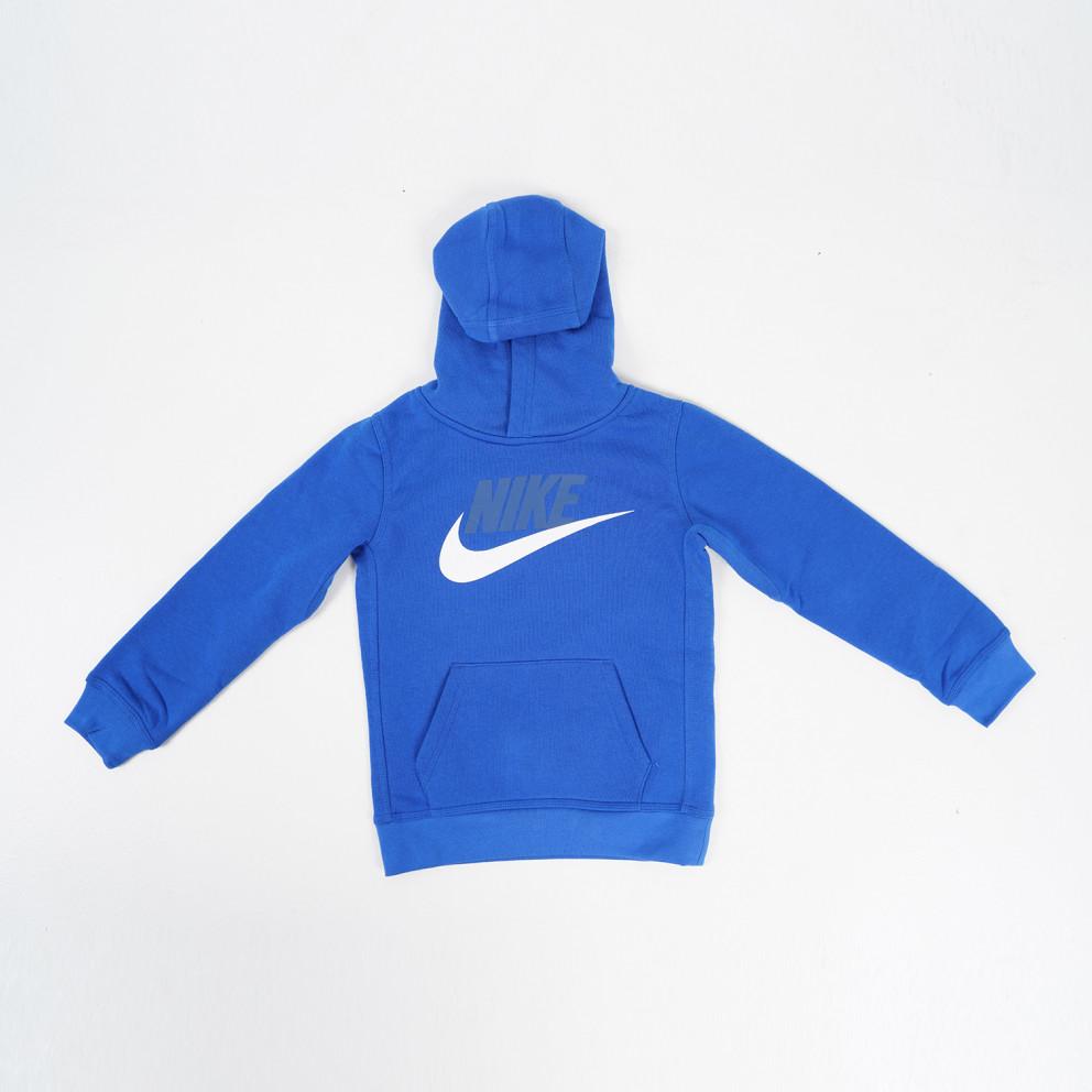 Nike Club Fleece Pullover Παιδικό Φούτερ με Κουκούλα