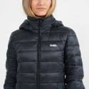 Body Action Women's Padded Coat With Hood